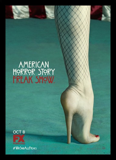 Quadro Poster Series American Horror Story Freak Show 10