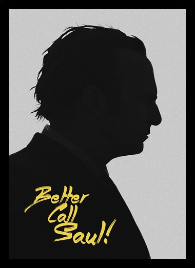 Quadro Poster Series Better Call Saul 1