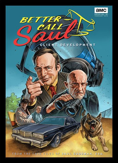 Quadro Poster Series Better Call Saul 9
