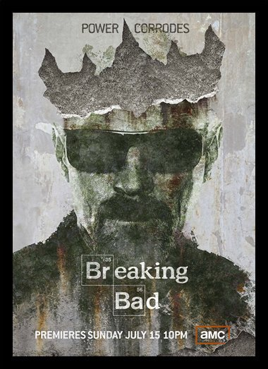 Quadro Poster Series Breaking Bad 1