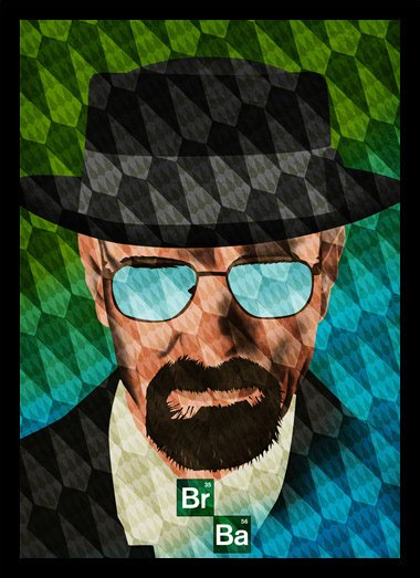 Quadro Poster Series Breaking Bad 13