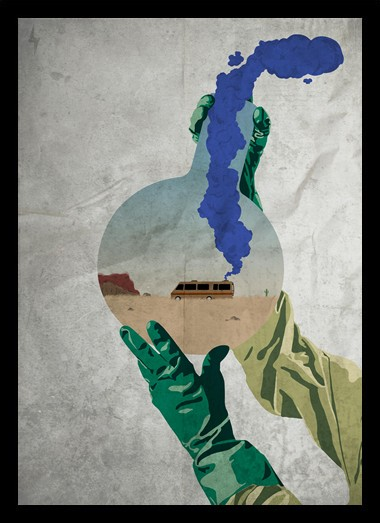 Quadro Poster Series Breaking Bad 15