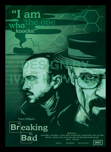 Quadro Poster Series Breaking Bad 16