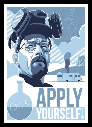 Quadro Poster Series Breaking Bad 17