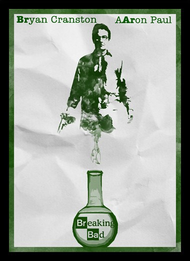 Quadro Poster Series Breaking Bad 22