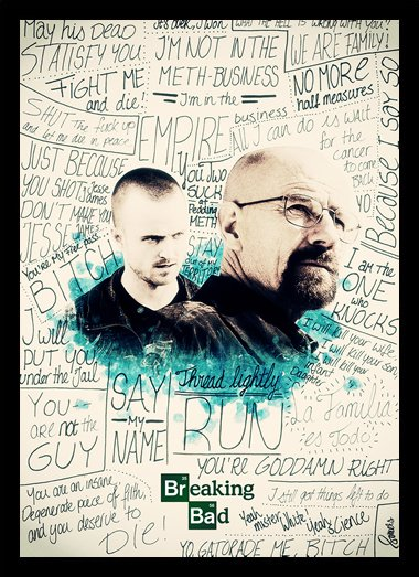 Quadro Poster Series Breaking Bad 24