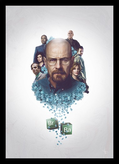 Quadro Poster Series Breaking Bad 25