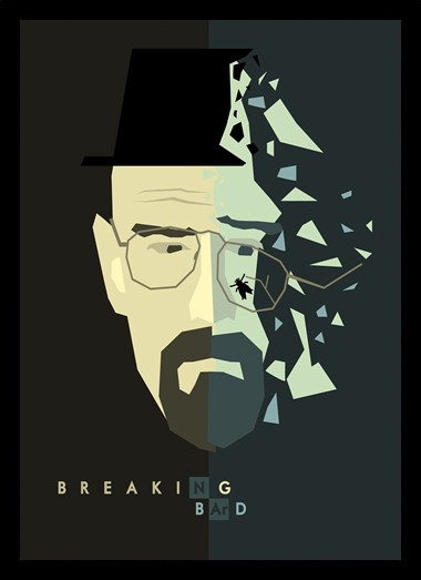Quadro Poster Series Breaking Bad 27