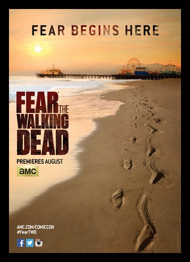Quadro Poster Series Fear The Walking Dead 1