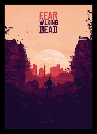 Quadro Poster Series Fear The Walking Dead 4