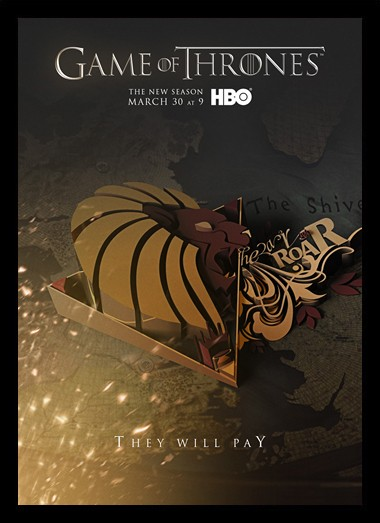 Quadro Poster Series Game of Thrones 5