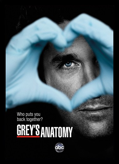 Quadro Poster Series Greys Anatomy 5