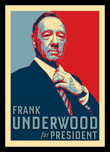 Quadro Poster Series House of Cards 1