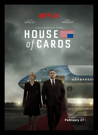 Quadro Poster Series House of Cards 3