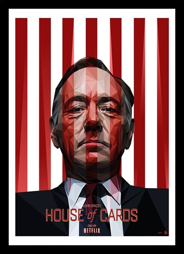 Quadro Poster Series House of Cards 7