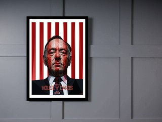 Quadro Poster Series House of Cards 7 na internet
