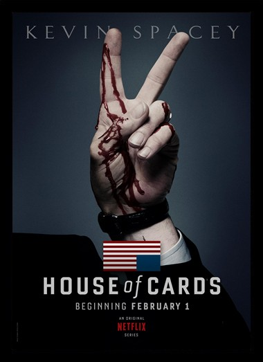 Quadro Poster Series House of Cards 12