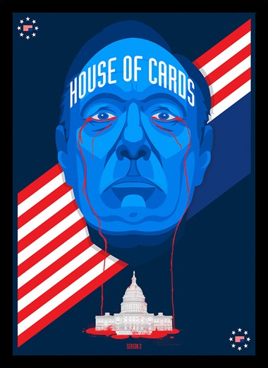 Quadro Poster Series House of Cards 13