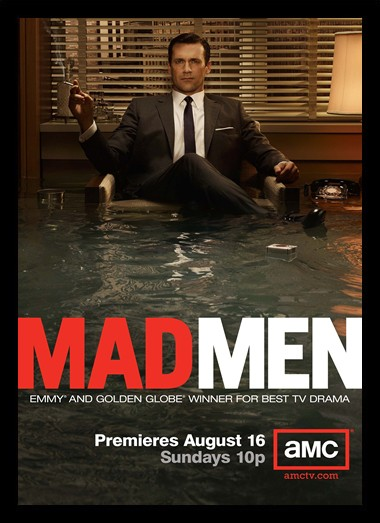 Quadro Poster Series Mad Men 4