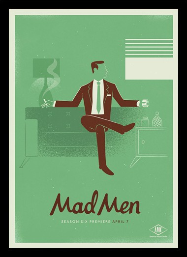 Quadro Poster Series Mad Men 5