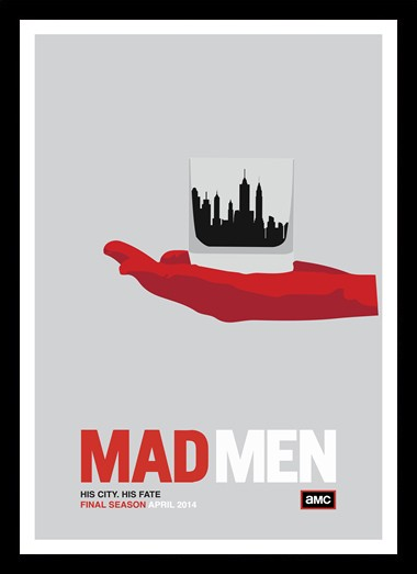 Quadro Poster Series Mad Men 10