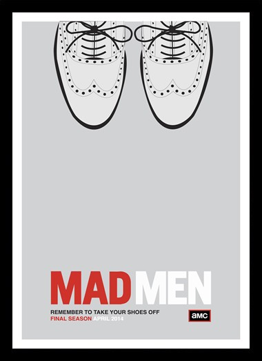 Quadro Poster Series Mad Men 11