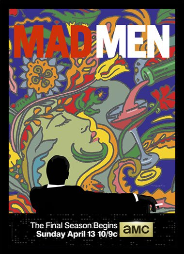 Quadro Poster Series Mad Men 12