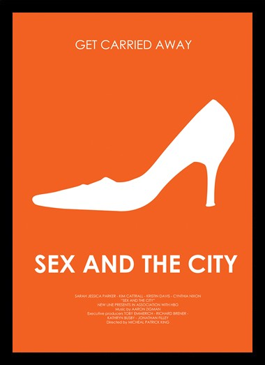 Quadro Poster Series Sex and the City 2
