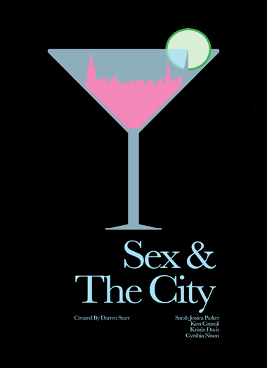 Quadro Poster Series Sex and the City 11
