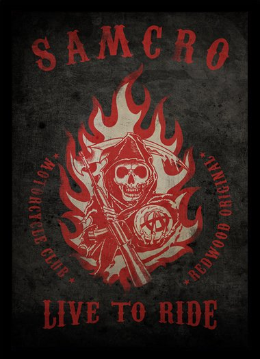 Quadro Poster Series Sons of Anarchy 4