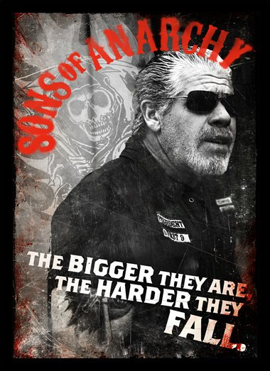 Quadro Poster Series Sons of Anarchy 8