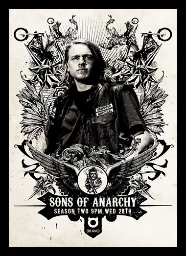 Quadro Poster Series Sons of Anarchy 10