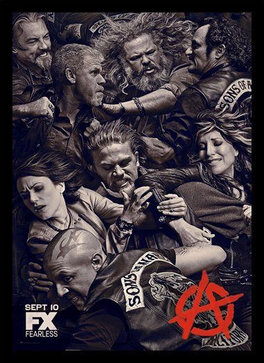 Quadro Poster Series Sons of Anarchy 13