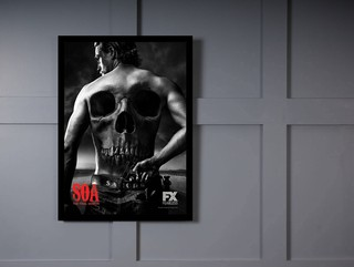 Quadro Poster Series Sons of Anarchy 16 na internet