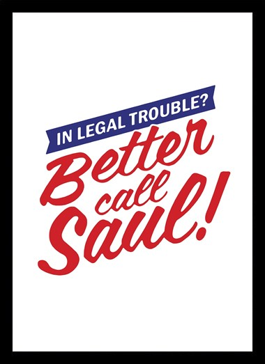 Quadro Poster Series Better Call Saul 8