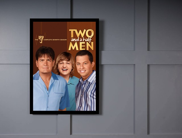 Quadro Poster Series Two and a half Men 8 na internet