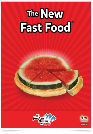 Poster Cozinha The New Fast Food Watermelon