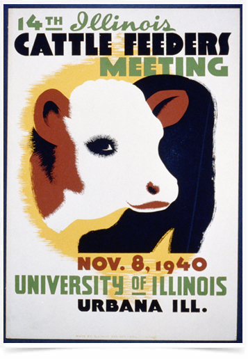 Poster Natureza Cattle Feeders Meeting