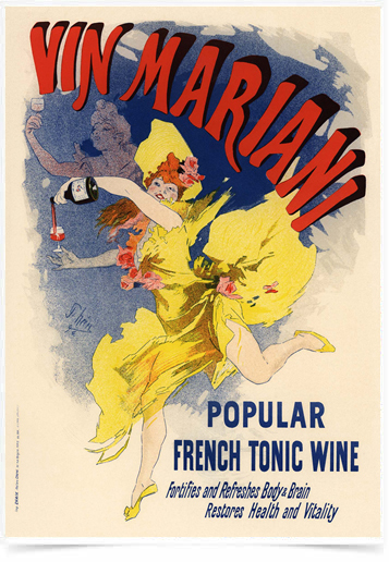 Poster The Belle Epoque Vin Mariani
