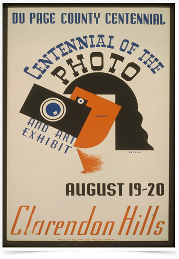 Poster Propaganda Centennial of the Photo