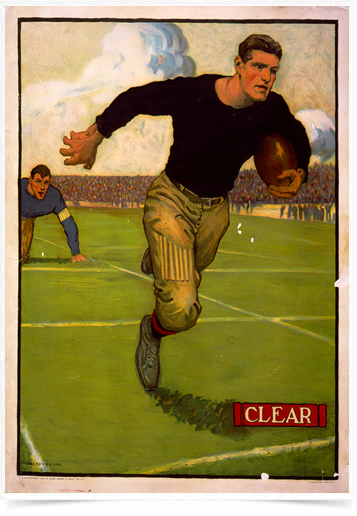 Poster Esportes Football Clear