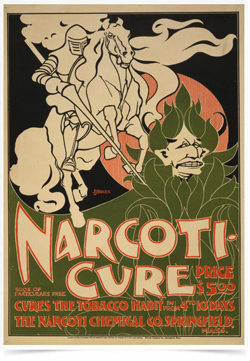 Poster Natureza Narcoticure