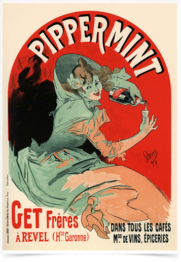 Poster The Belle Epoque Pippermint