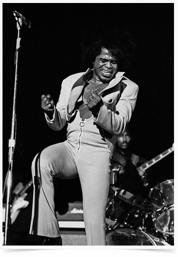 Poster Grandes Nomes da Musica James Brown 2