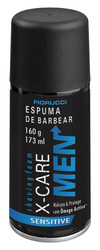 Espuma de Barbear X-Care men 160 g - Fiorucci online