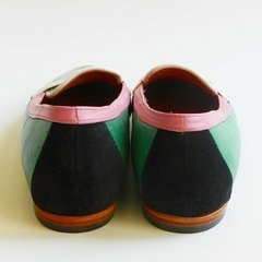 Mocasin Multicolor Verde Menta - Battaglia Laguna - Shop Online, Mercado Pago.