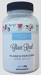 GLACE REAL BLANCO POP CORN - ESSENTIALS - SABOR VAINILLA DUSTCOLOR