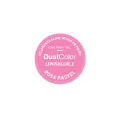 COLORANTE LIPOSOLUBLE EN POLVO ROSA PASTEL- DUSTCOLOR -