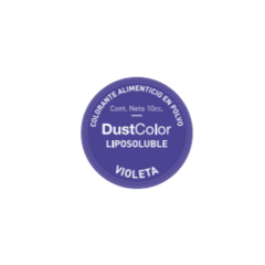 COLORANTE LIPOSOLUBLE EN POLVO VIOLETA- DUSTCOLOR -