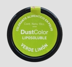 COLORANTE LIPOSOLUBLE EN POLVO VERDE LIMON - DUSTCOLOR
